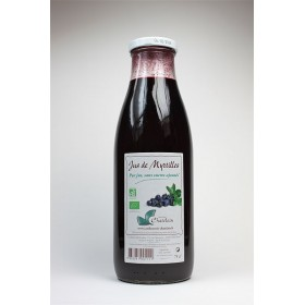 Pur jus de fruits de myrtilles BIO