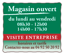 Informations magasins