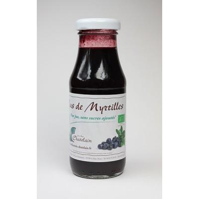 Pur jus de fruits de myrtilles BIO 6x20cl