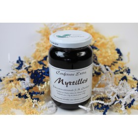 Confiture Myrtilles 420g X6