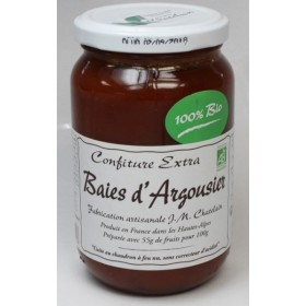 Confitures Baies d'argousier BIO 420g