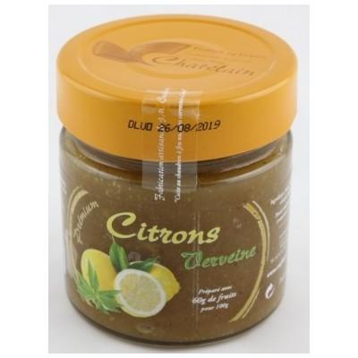 """Confitures """"PREMIUM"""" Citron / Verveine"""