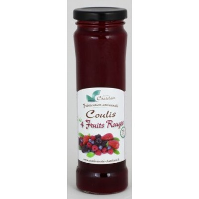 Coulis Tradition 4 Fruits rouges