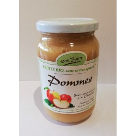 100% Fruits BIO Pommes 360g