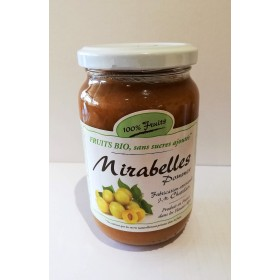 100% Fruits BIO Mirabelles 360g