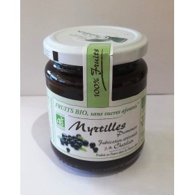 100% Fruits BIO Myrtilles 200g