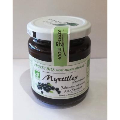 100% Fruits BIO Myrtilles 200g