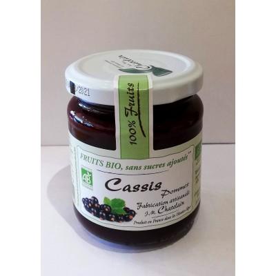 100% Fruits BIO Cassis 200g