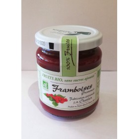100% Fruits BIO Framboises 200g