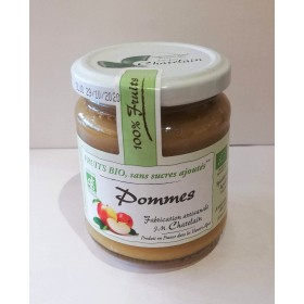 100% Fruits BIO Pommes 200g