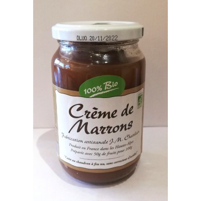 Crème de Marron BIO 420G