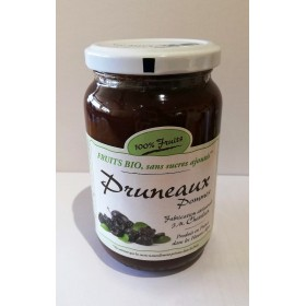100% Fruits BIO pruneaux x6