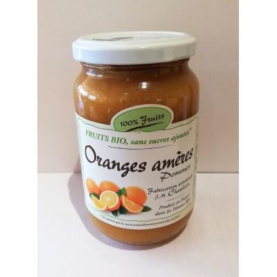 100% Fruits BIO Oranges Amères 360g  x6