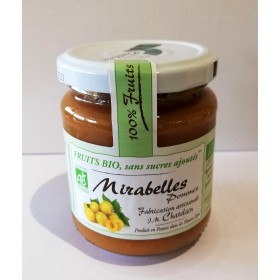 100% Fruits BIO Mirabelles 200g