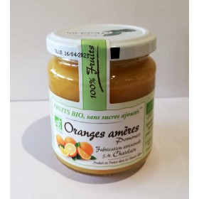 100% Fruits BIO Oranges Amères 200g