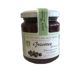100% Fruits BIO Griotte 200g